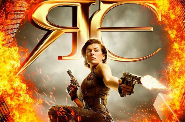 Resident Evil: The Final Chapter Teaser-Poster