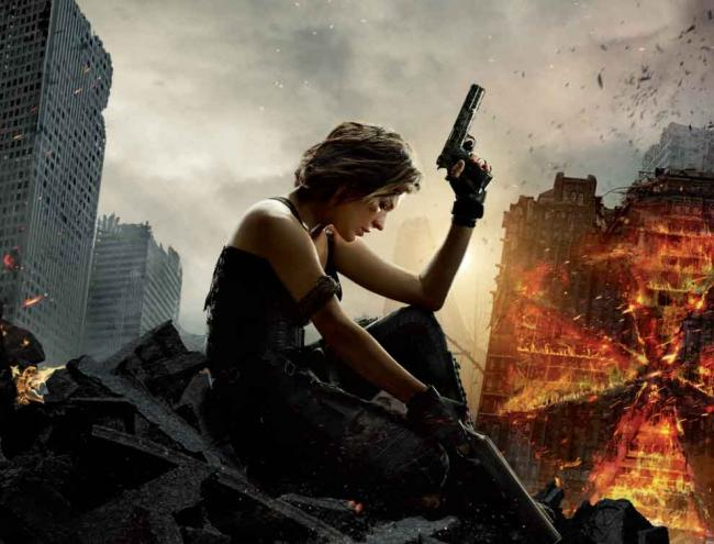 Resident Evil: The Final Chapter Teaser-Poster