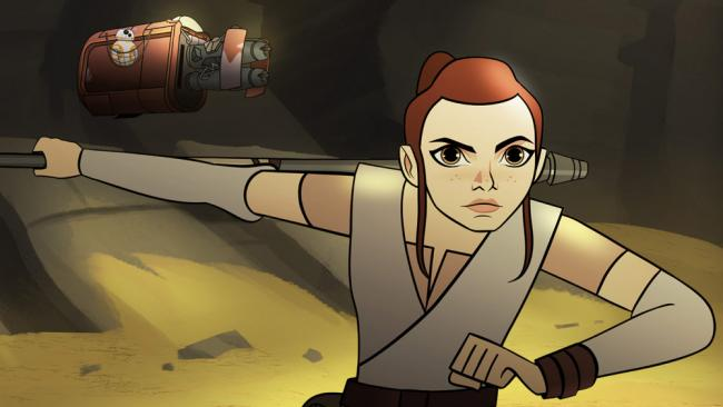 Rey Star Wars Forces of Destiny