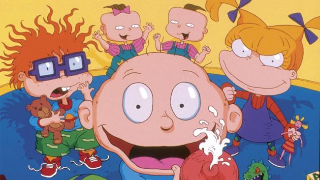 Tommy, Chuckie, Lil, Phil und Angelica von den Rugrats