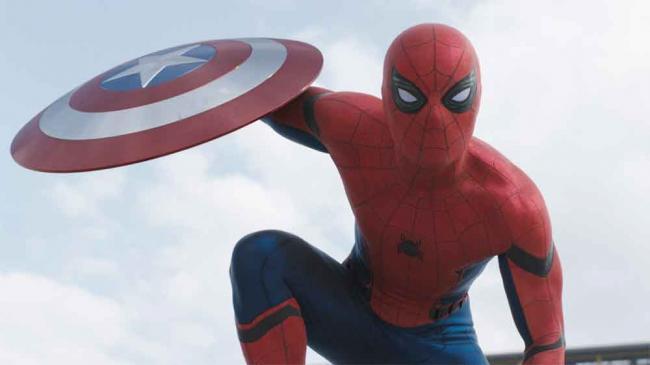 Spider-Man in Captain America: Civil War