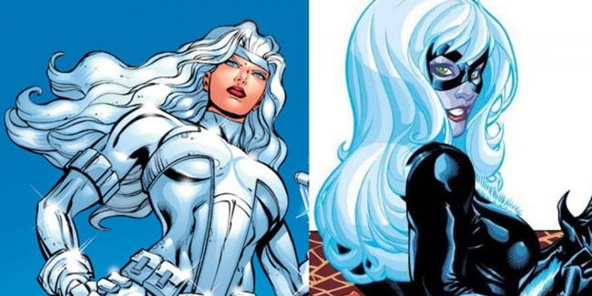 Silver Sable & Black Cat Spider-Man