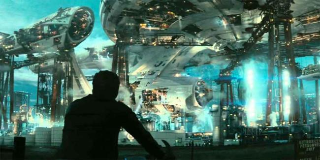 Szenenbild aus J. J. Abrams Star Trek (2009)
