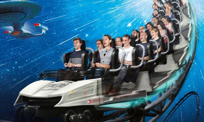 Star Trek Achterbahn