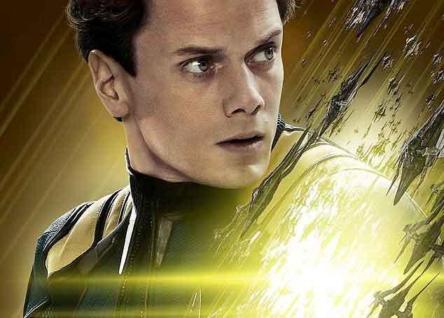 Anton Yelchin als Chekov in Star Trek Beyond