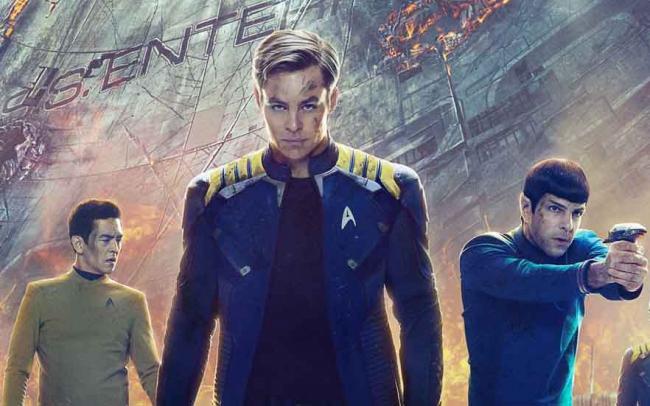 Südkoreanisches Poster zu Star Trek Beyond