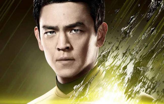 Star Trek Beyond Hikaru Sulu Charakterposter