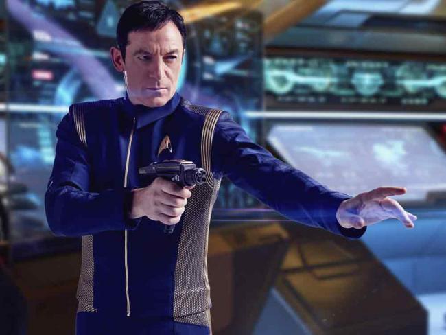 Captain Gabriel Lorca (Jason Isaacs)