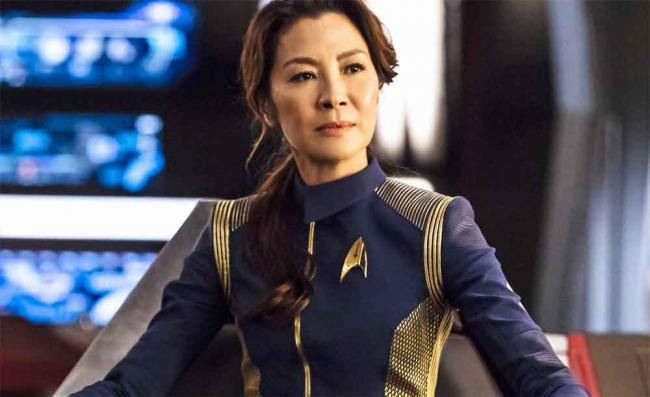 Captain Georgiou (Michelle Yeoh) in Star Trek: Discovery