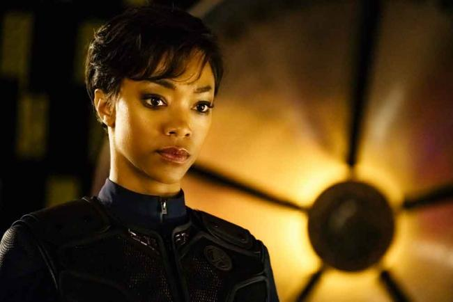 Sonequa Martin-Green als Michael Burnham in Star Trek: Discovery