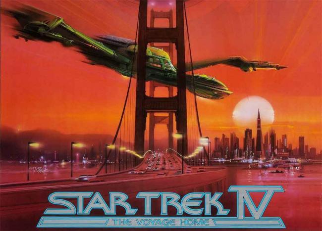 Star Trek IV: Zurück in die Gegenwart 1986 Poster