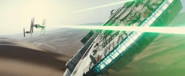 Star Wars The Force Awakens Millennium Falcon