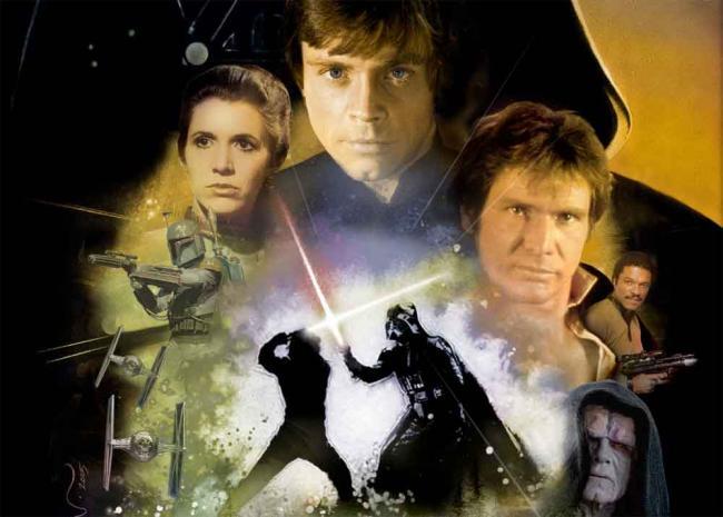 Star Wars: Die Rückkehr der Jedi-Ritter Poster