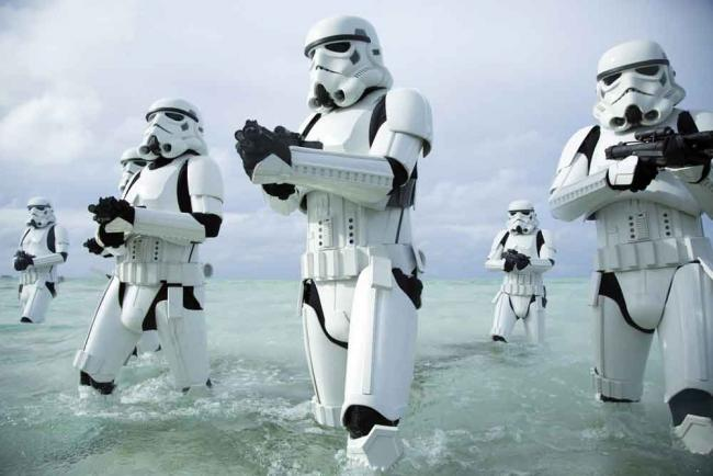 Stormtrooper in Rogue One: A Star Wars Story