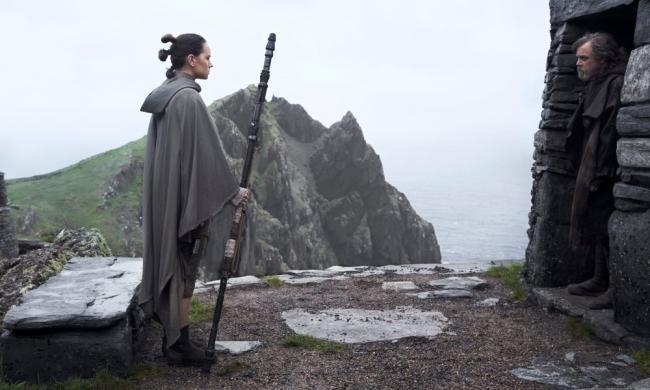 Star Wars: Die letzten Jedi Luke und Rey