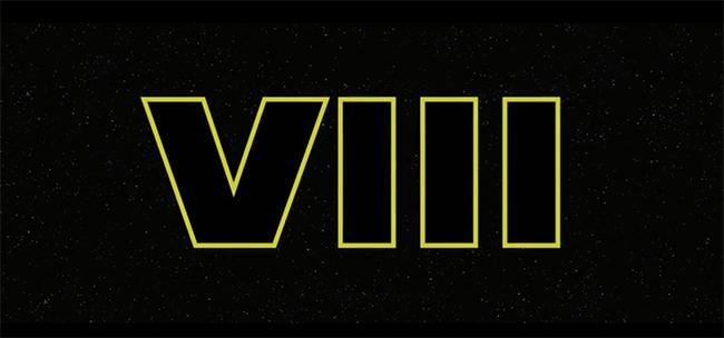 Star Wars Episode 8 Logo