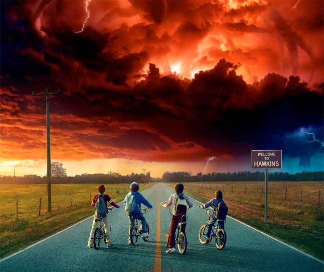 Stranger Things: Staffel 2 Poster