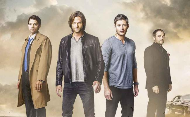 Supernatural Staffel 12 Poster