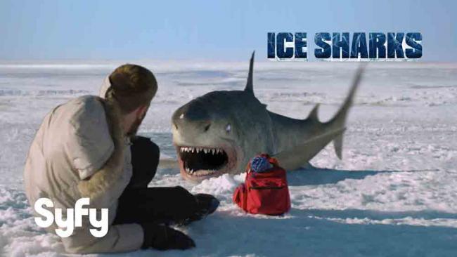Ice Sharks Key Art