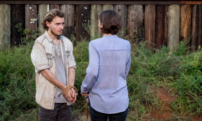 Maggie in The Walking Dead