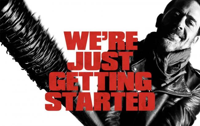 The Walking Dead Staffel 7 Werbeposter mit Negan