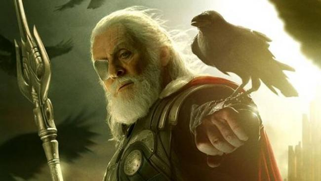 Anthony Hopkins als Odin in Thor: The Dark World