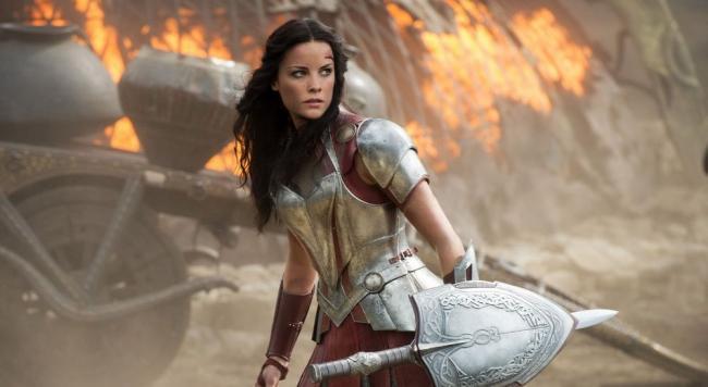 Thor Jamie Alexander Lady Sif