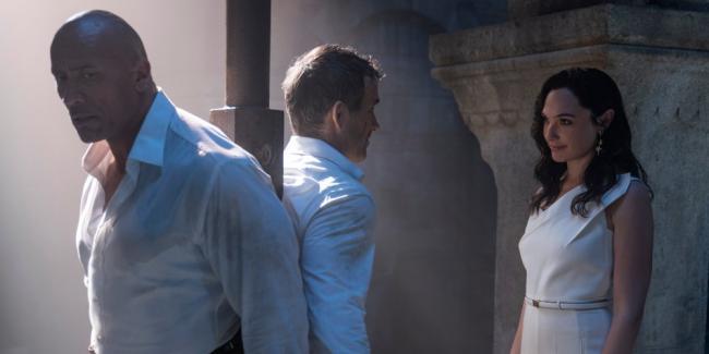 Red Notice Dwayne Johnson Gal Gadot Ryan Reynolds