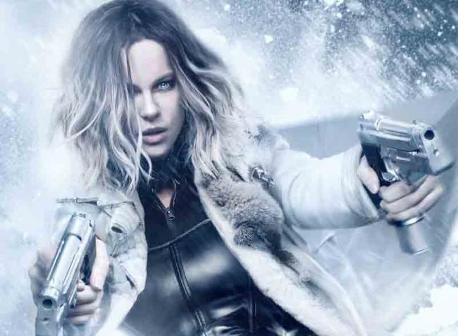 Kate Beckinsale als Selene in Underworld: Blood Wars