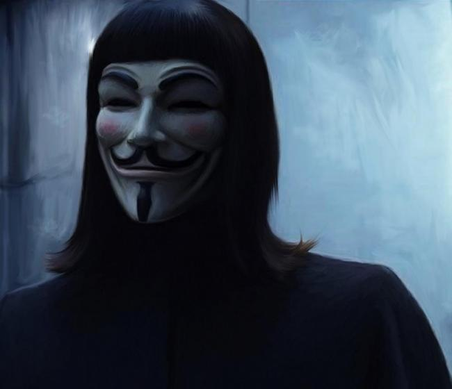 V wie Vendetta- Guy Fawkes-Maske
