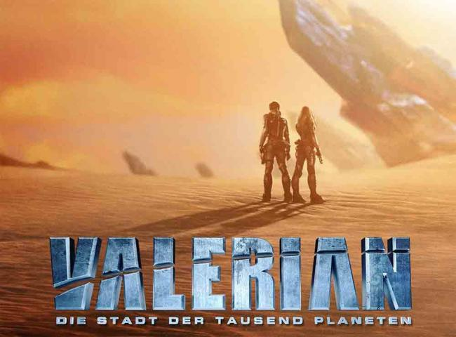 Valerian - Die Stadt der tausend Planeten Teaser-Poster