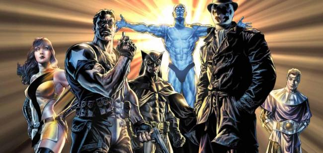 Die Superhelden aus dem Watchmen-Comic