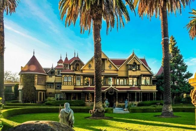 Das Winchester Mystery House in San Jose