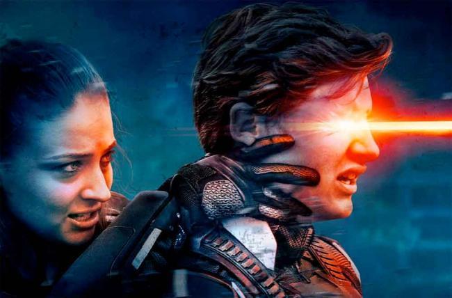 Szenenbild aus X-Men: Apocalypse - Jean Grey und Cyclops