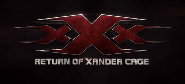 xXx 3: The Return of Xander Cage Logo