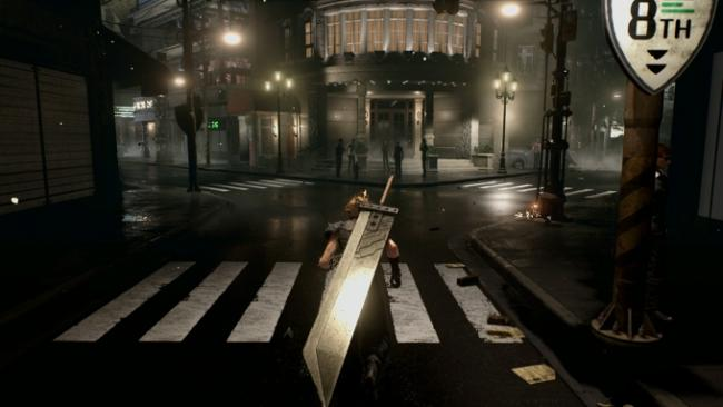 Final Fantasy 7 Remake Screenshot