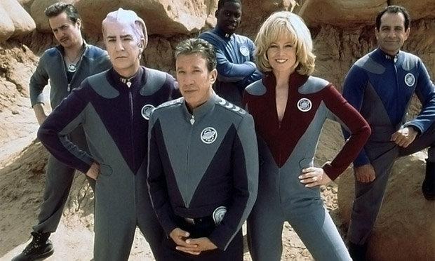 Der Cast von Galaxy Quest