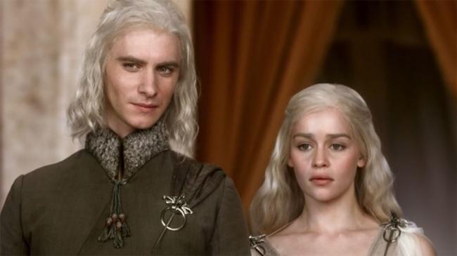 Game of Thrones Viserys Daenerys Targaryen