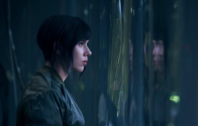 Scarlett Johansson Ghost in the Shell Still
