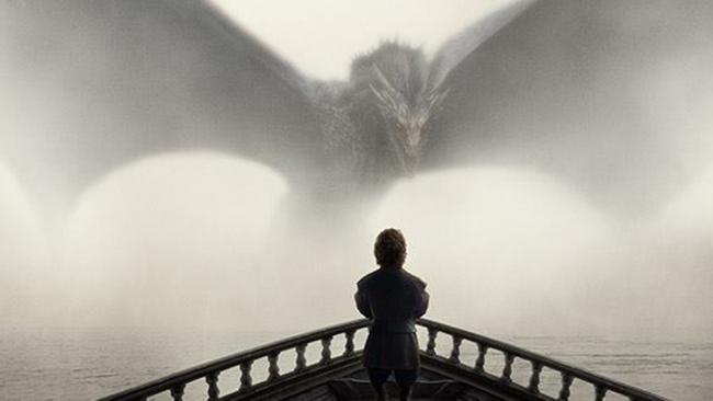 Tyrion sieht dem Drachen ins Auge - Game of Thrones