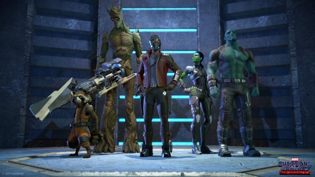 Telltale's Guradians of the Galaxy Team