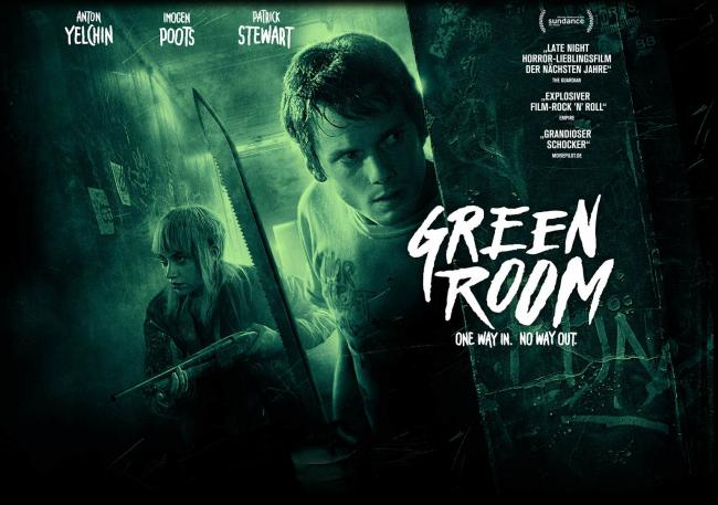 Green Room Movie Anton Yelchin, Patrick Stewart, Imogen Poots