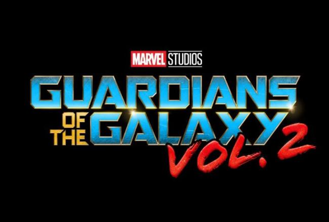 Schriftzug-Logo zu Marvels Guardians of the Galaxy Vol. 2