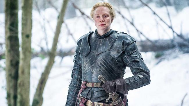 Gwendoline Christie als Brienne von Tarth in der Serie Game of Thrones