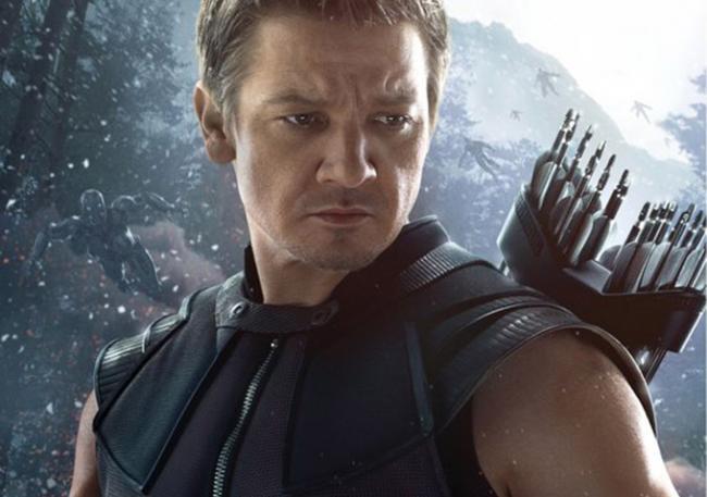 Jeremy Renner alias Hawkeye in Avengers: Age of Ultron