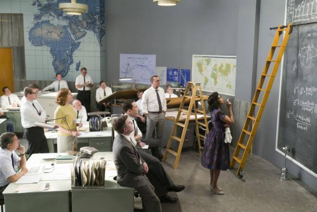 Taraji P. Henson,Kevin Costner und Jim Parsons in Hidden Figures