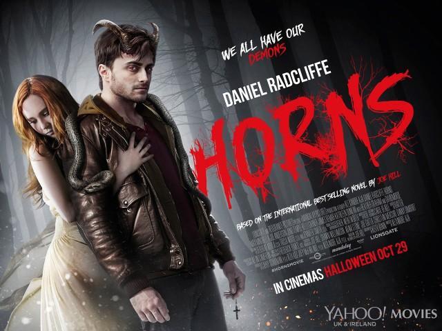 Poster Horns, Daniel Radcliffe