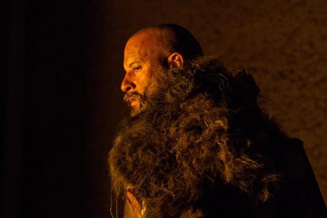 Vin Diesel mit Bart in Fantasy-Setting