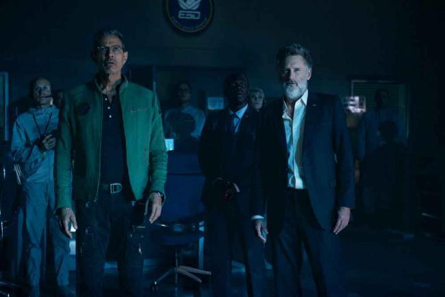 Independence Day: Wiederkehr Szenenbild mit Bill Pullman und Jeff Goldblum