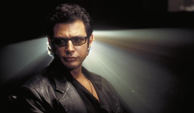 Jeff Goldblum als Dr. Ian Malcolm 1993 in Jurassic Park